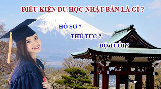 Điều kiện để đi du học Nhật Bản năm 2020